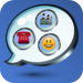 5-in-1  Chat for Facebook (Multimedia, Text Pic, Emoticons, Location a